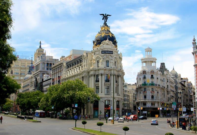 马德里,西班牙 库存照片