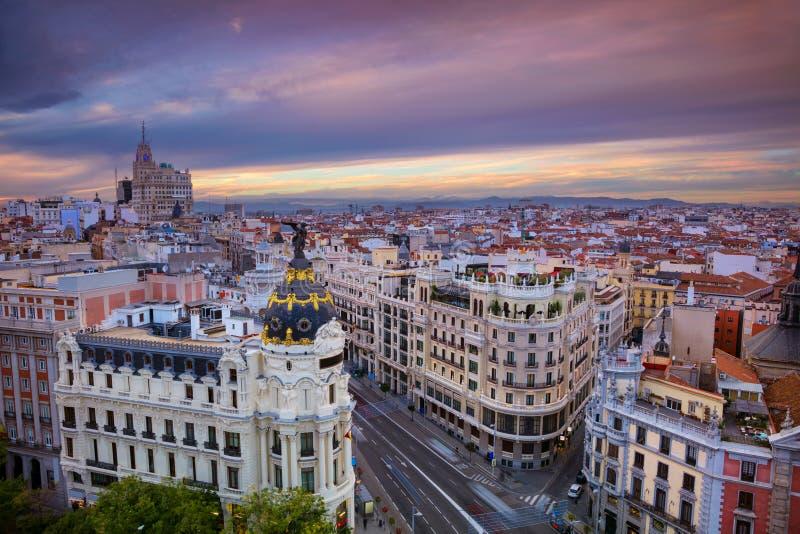 马德里 免版税图库摄影