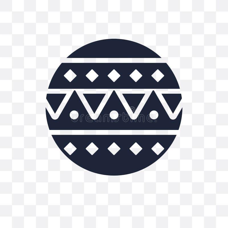 马戏球透明象 马戏球从Cir的标志设计 库存例证