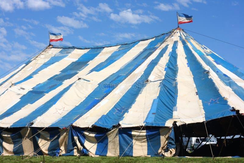 马戏老帐篷 库存照片