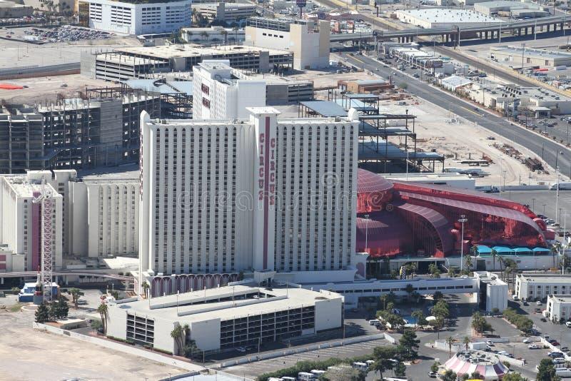 马戏马戏旅馆和赌博娱乐场,拉斯维加斯, NV 免版税库存图片