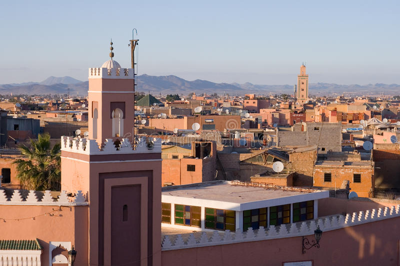 马拉喀什摩洛哥 免版税图库摄影