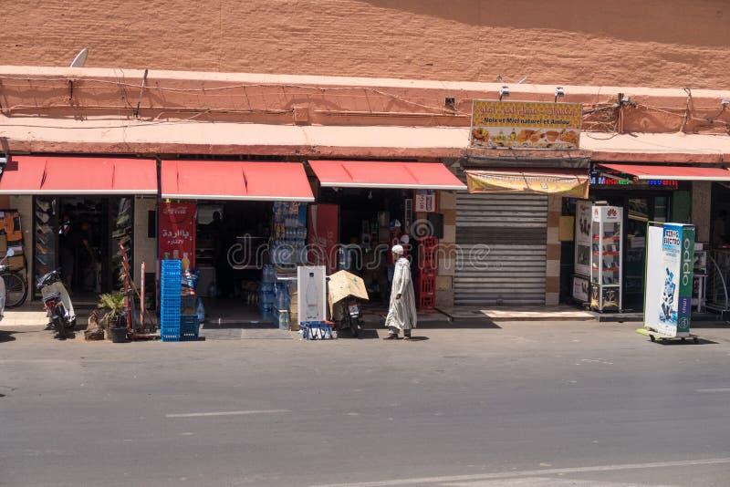 马拉喀什 免版税库存图片