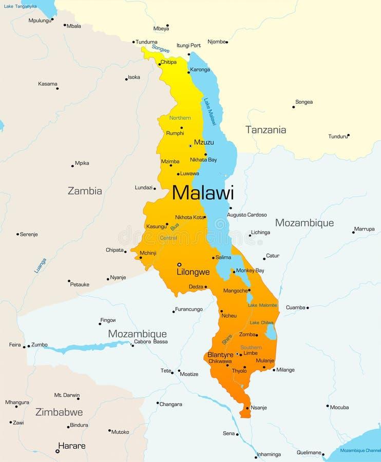马拉维 皇族释放例证