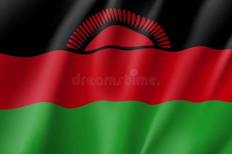 马拉维的传染媒介国旗 皇族释放例证