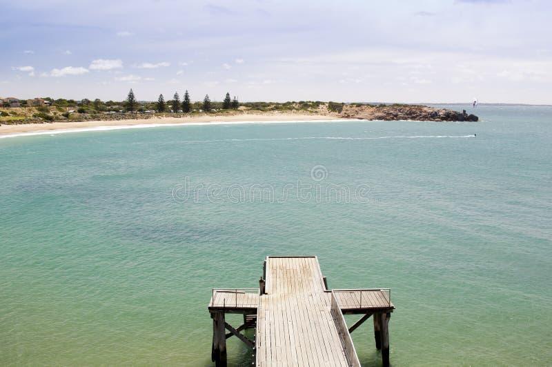 马掌海湾,南澳洲 库存照片