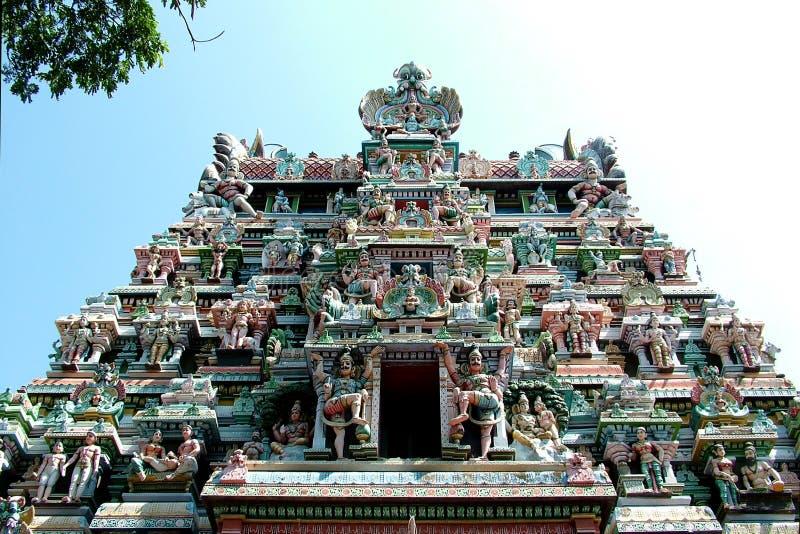 马杜赖寺庙 免版税库存照片