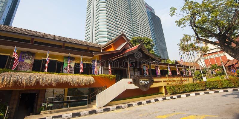 马来的世界博物馆的民俗学-吉隆坡 库存图片