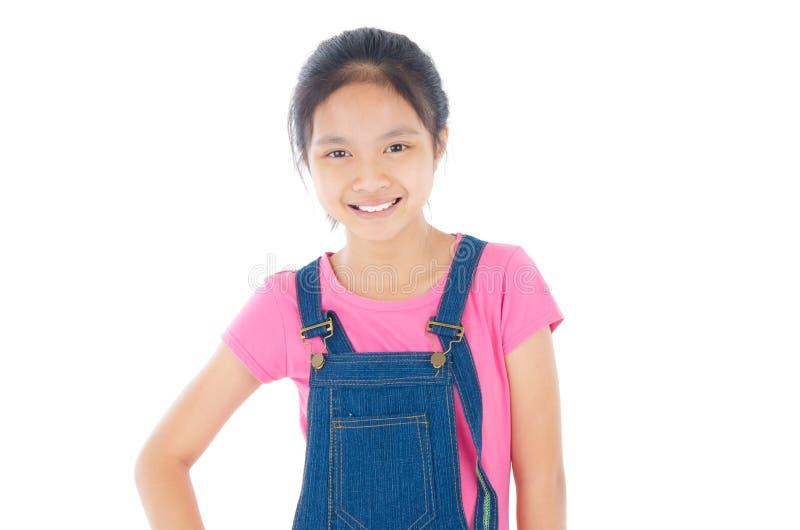 马来的女孩 图库摄影