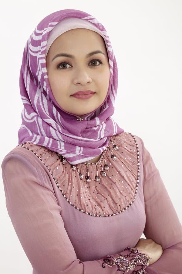 马来的女实业家 免版税库存图片