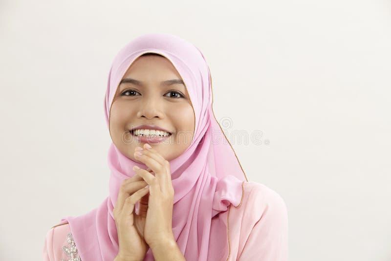 马来的妇女 免版税库存照片