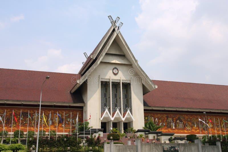 马来西亚博物馆国民 免版税库存图片