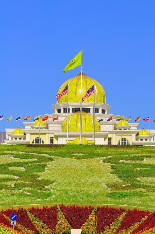 马来西亚国民宫殿 图库摄影