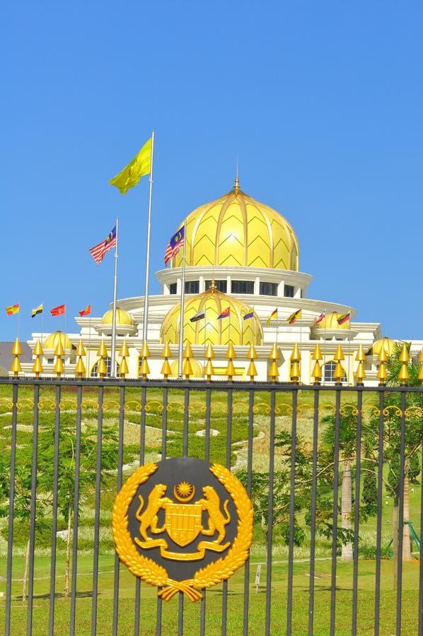 马来西亚国民宫殿 免版税库存照片