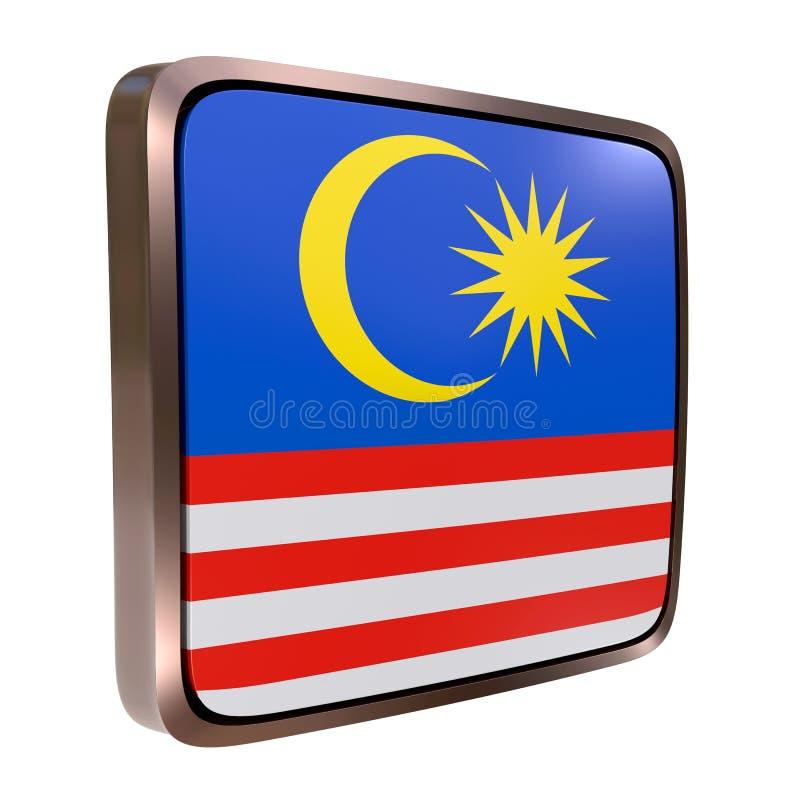 马来西亚旗子象 向量例证