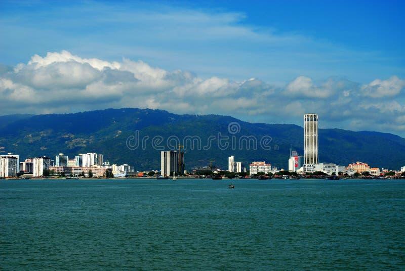 马来西亚槟榔岛 免版税库存图片