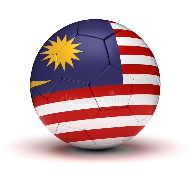 马来西亚橄榄球 皇族释放例证