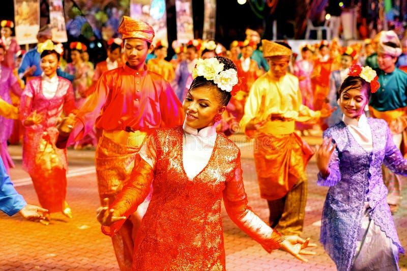 马来西亚的颜色 免版税库存照片