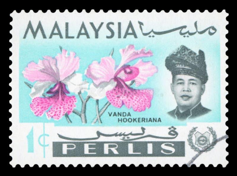 马来西亚-邮票 免版税库存照片