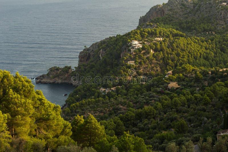 马略卡海岛风景  免版税图库摄影