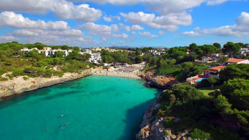 马略卡(马略卡)是一个地中海的西班牙的巴利阿里群岛 免版税库存照片