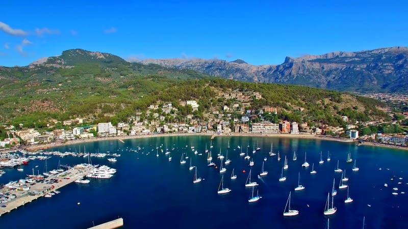 马略卡(马略卡)是一个地中海的西班牙的巴利阿里群岛 免版税库存图片
