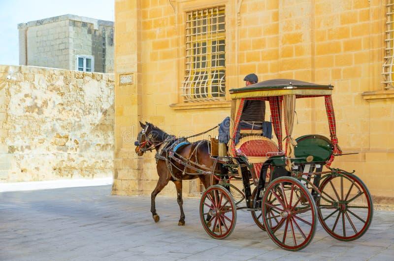 马耳他海岛、历史和自然 库存照片