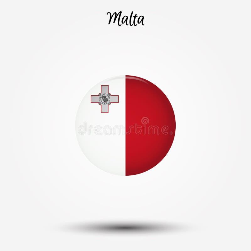 马耳他象旗子  皇族释放例证