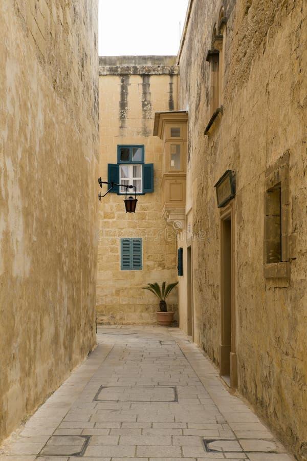 马耳他姆迪纳5 库存图片