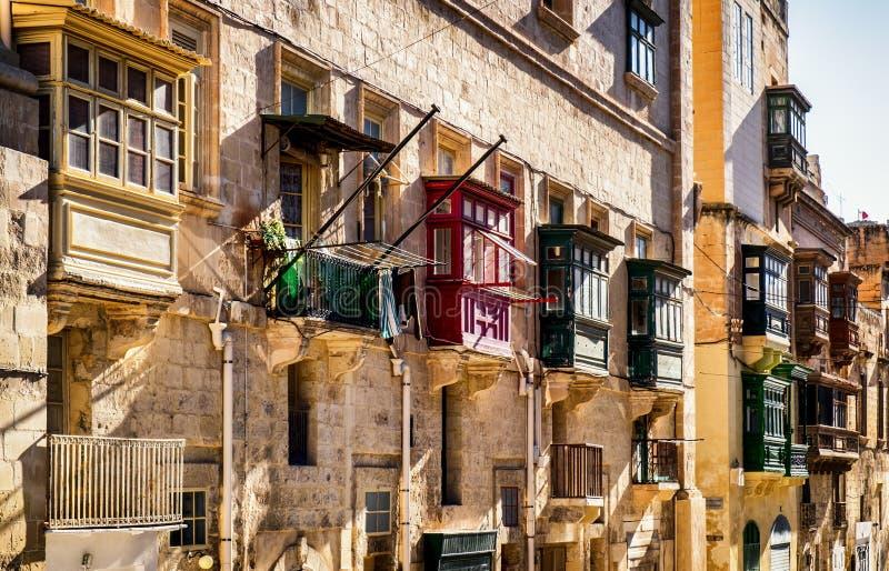 马耳他-瓦莱塔 免版税库存照片