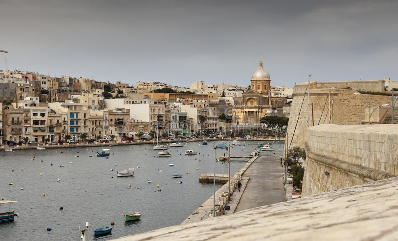 马耳他,小港口 图库摄影