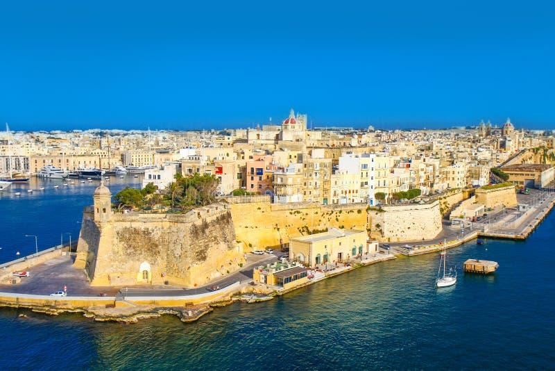 马耳他, La瓦莱塔 免版税库存照片