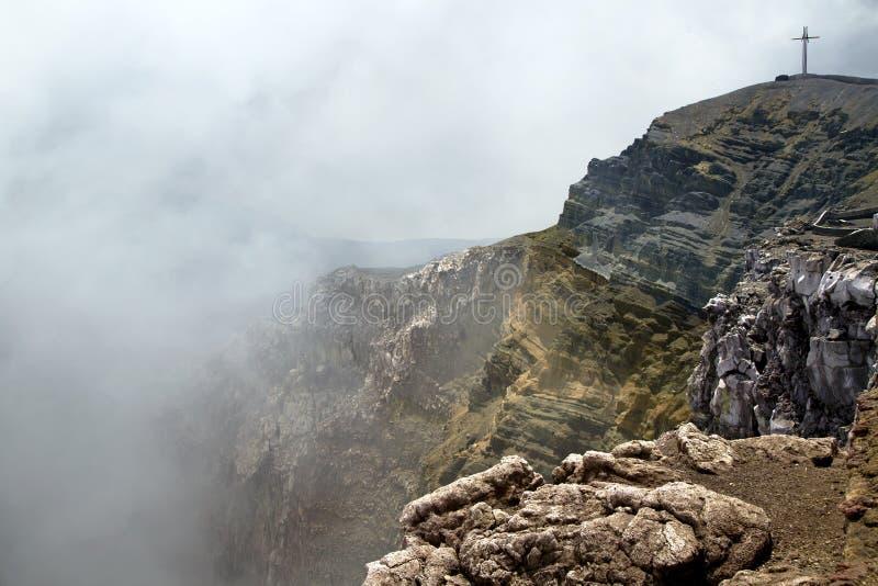 马萨亚火山国家公园 库存图片