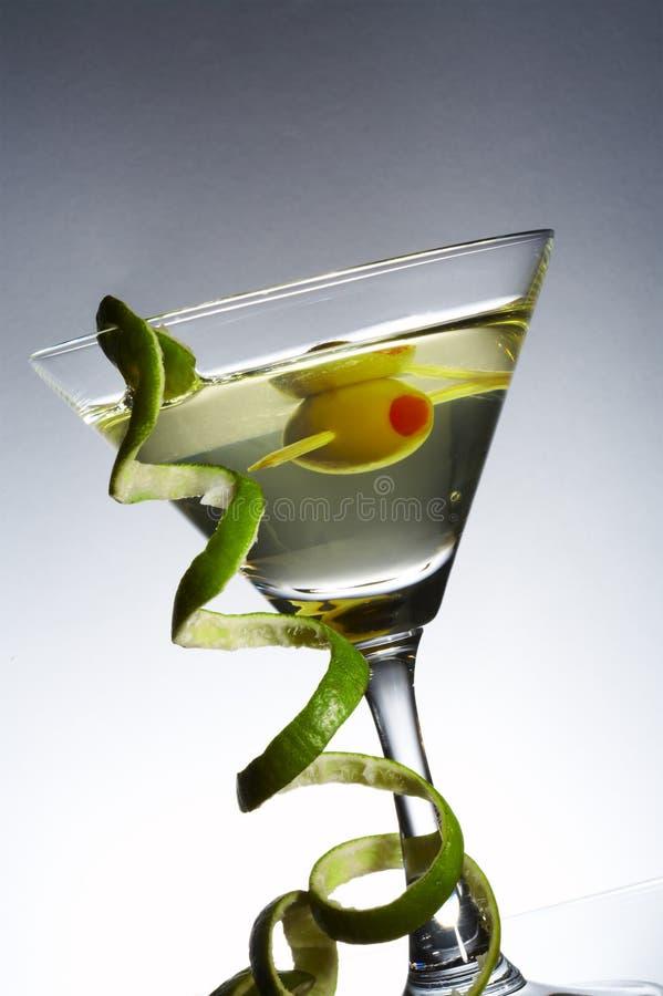 马蒂尼鸡尾酒集 库存图片