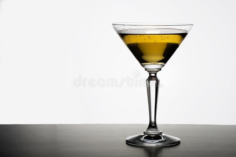 马蒂尼鸡尾酒 库存图片