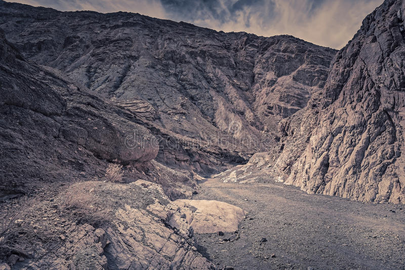 马赛克峡谷 库存照片