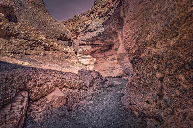 马赛克峡谷 图库摄影