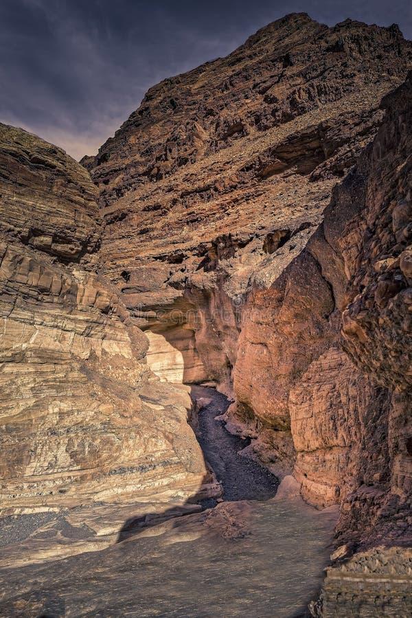 马赛克峡谷 免版税库存照片