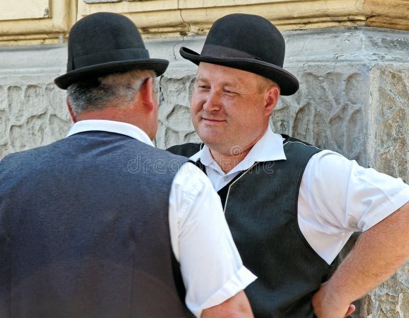 马车夫在Crakow。 免版税图库摄影