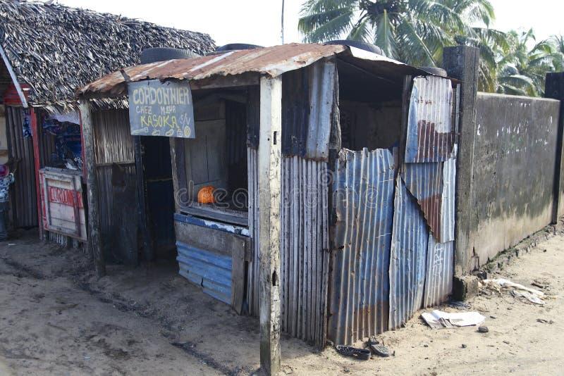 马达加斯加商业办公室 免版税库存图片