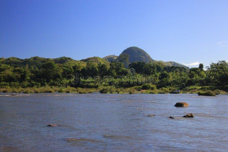 马达加斯加的山 库存图片