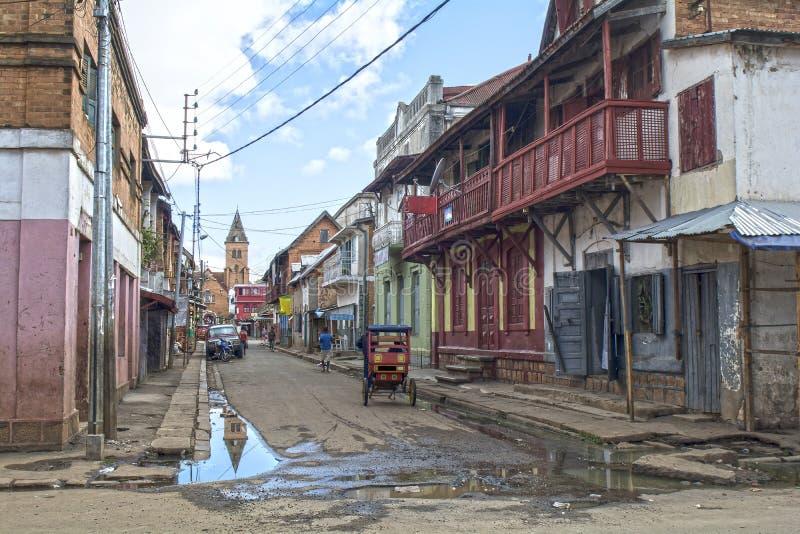 马达加斯加 安齐拉贝 免版税库存照片