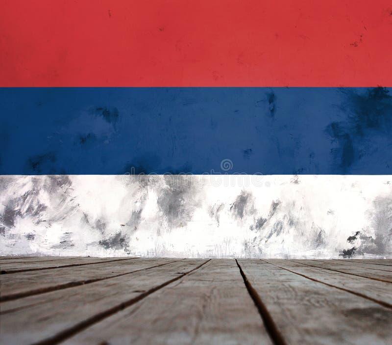 马里兰旗子的纹理装饰吠声的 免版税图库摄影