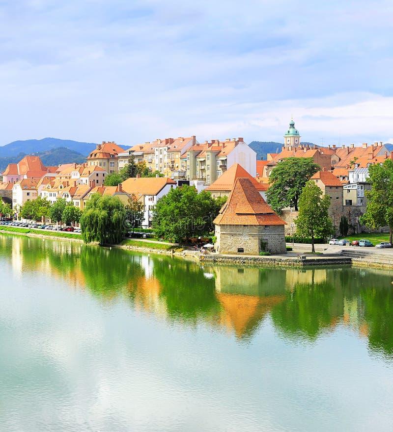 马里博尔,斯洛文尼亚 免版税库存图片