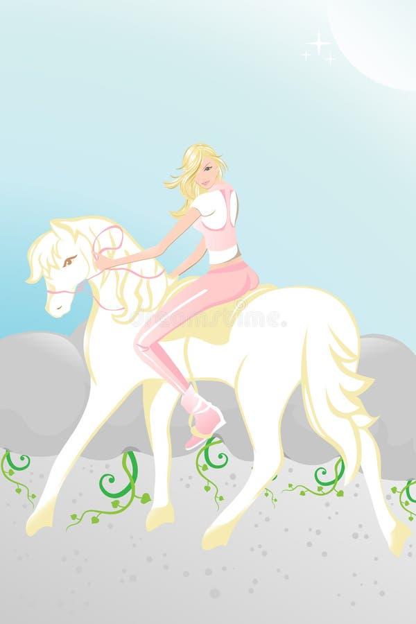 马骑术 免版税库存图片