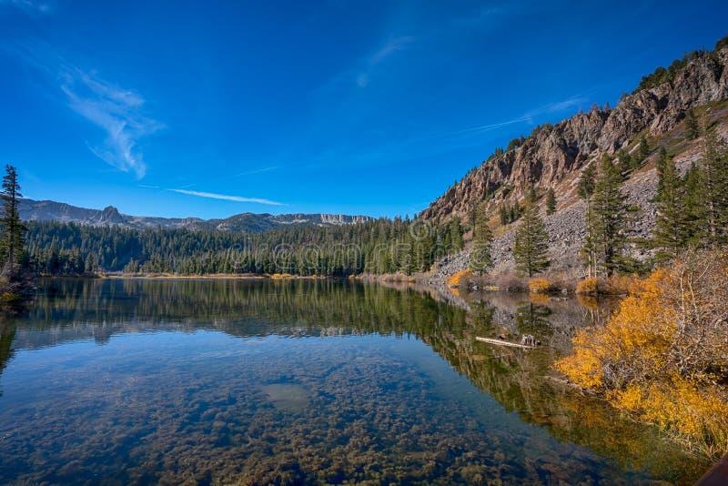 马麦斯湖在加利福尼亚 免版税库存图片