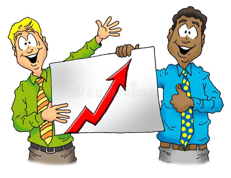 驱动销售额  向量例证