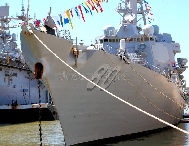 驱逐舰我们 免版税库存图片