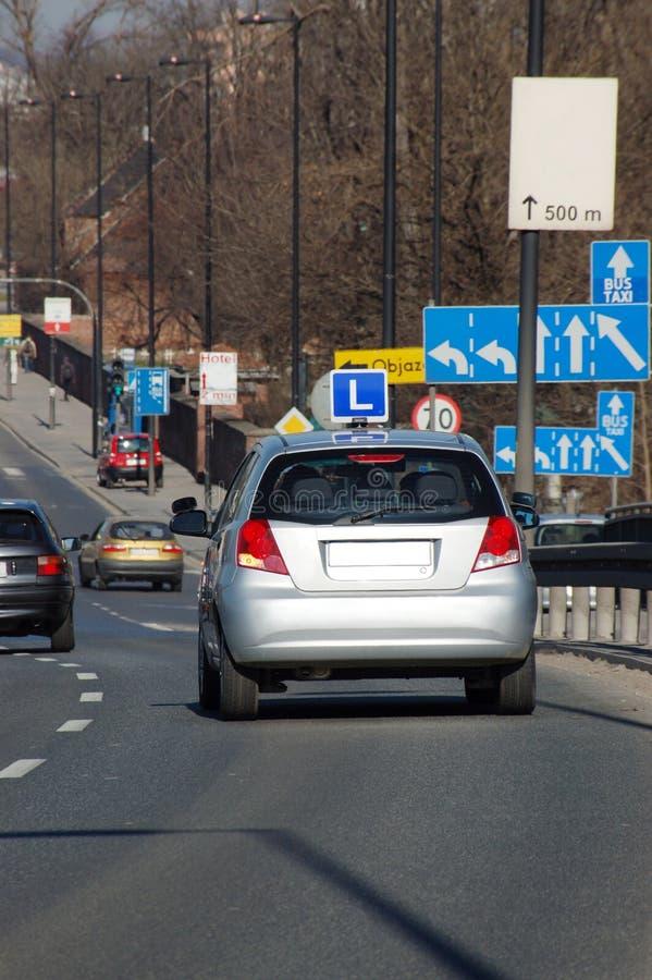 驾车课程 免版税库存照片