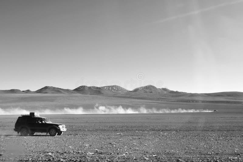 驾驶在玻利维亚 图库摄影